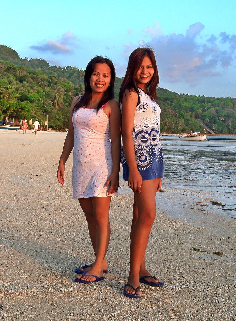 Hübsche Filipinas
