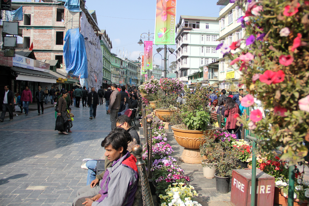 MG Marg walking street