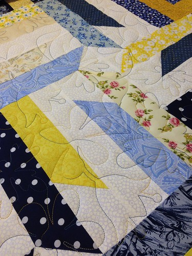 Blue & Yellow Quilt