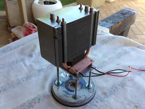 Cold Heatsink Installed
