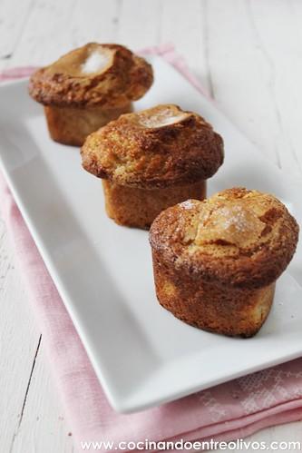 Nuffins de peras.www.cocinandoentreolivos (16)