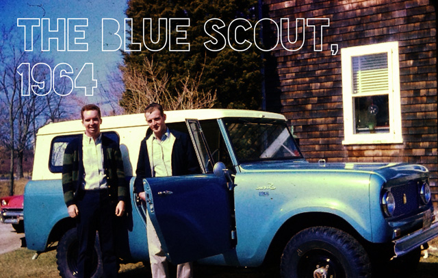 The Blue Scout, 1964