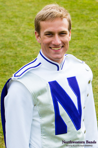 Drum Major Fritz Burgher