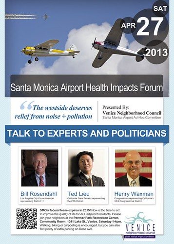 Santa Monica Airport Forum: 4-27-13