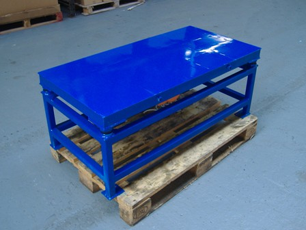 2m x 1m vibrating table this is a vibrating table that for Schreibtisch 2m x 1m
