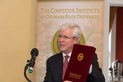 Colorado State University Confucius Institute Dedication