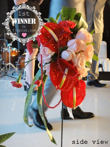 wedding hand bouquet competition ipbi 2013 15