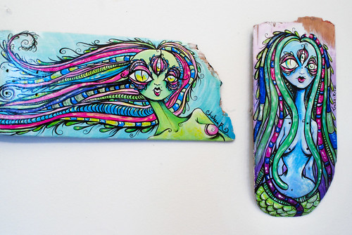 skateboard paintings
