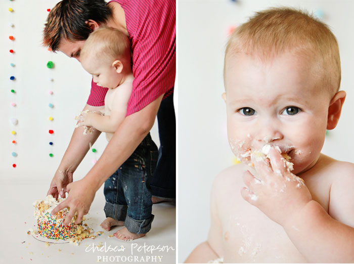 baby-boy-first-year-pictures-cake-smash