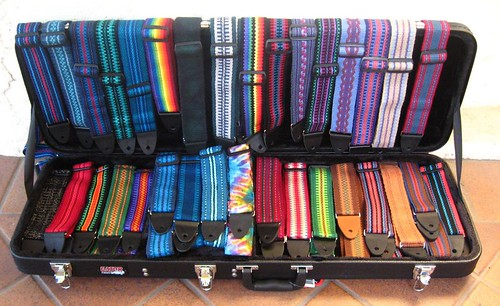 A Case of Guitar Straps