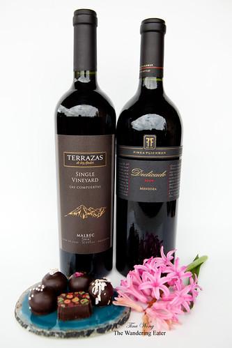 """Terrazas de Los Andes Single Vineyard """"Las Compuertas"""" Malbec 2010 & Finca Flichman Dedicado 2009"""