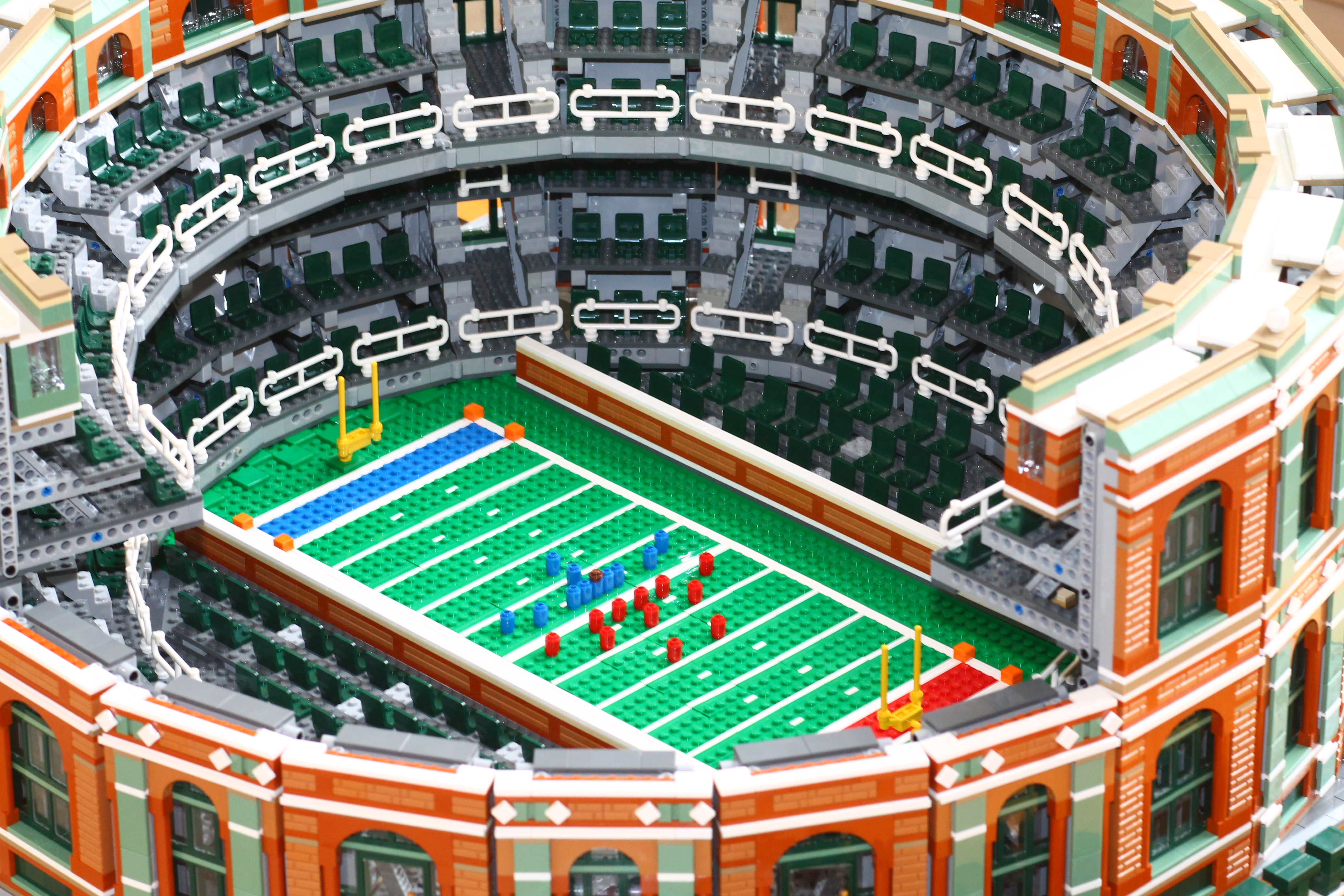 Moc Green Gables Stadium Special Lego Themes