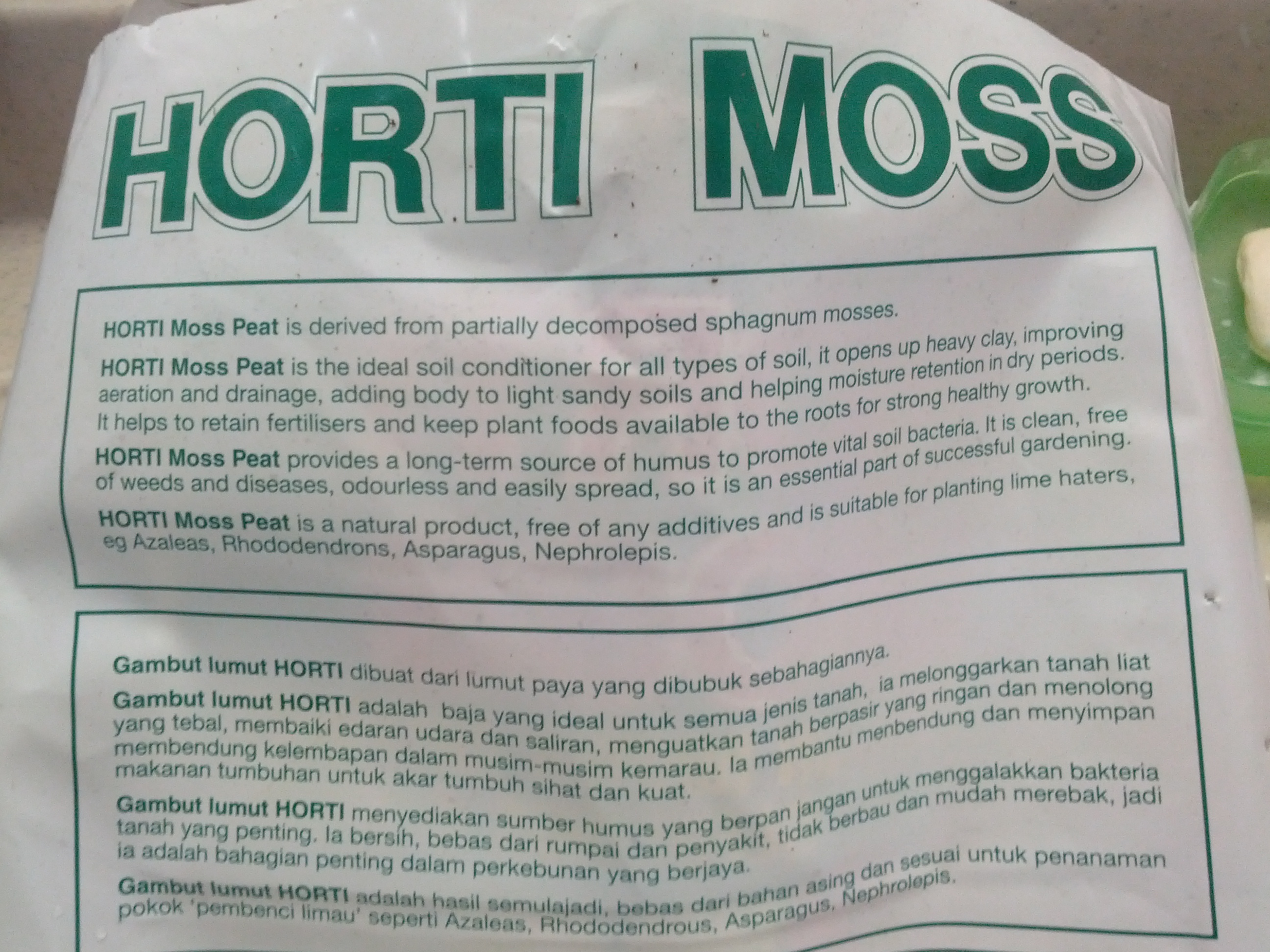 Tish's Carnivorous Plants: Preparing peat moss ......