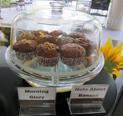 SLICE Morning Glory and Nuts About Banana muffins