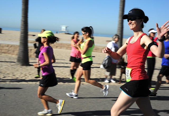 Stephanie @fitmomtraining starting Leg 1 of Ragnar Relay So Cal 2013