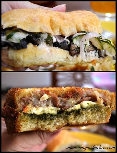 Farm Truck sandwiches