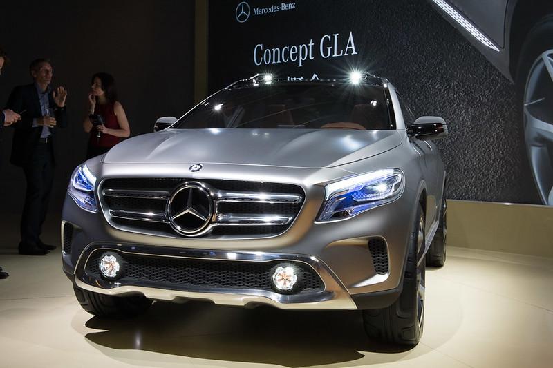 Mercedes-Benz Concept GLA Presentation in Shanghai 2013