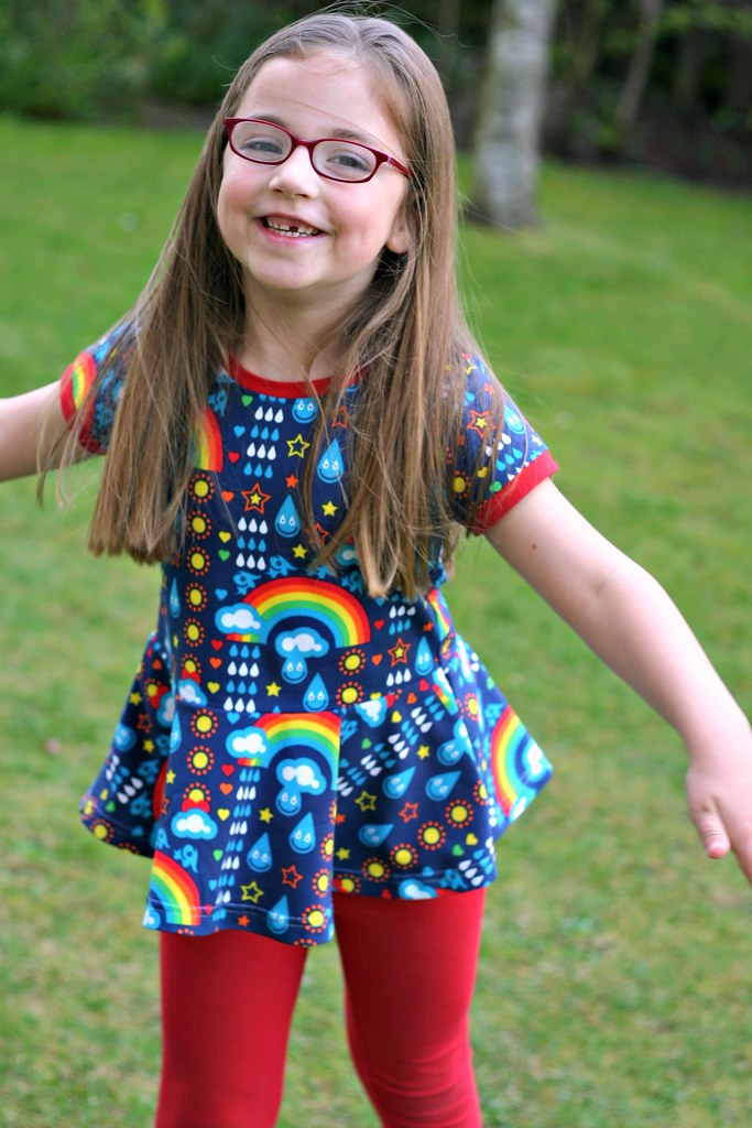 rainbowphant peplum close