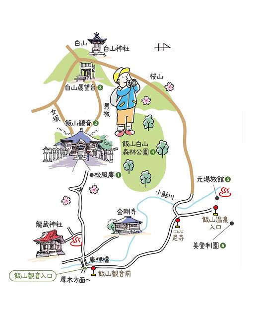 小田急電鉄 マップ6(日向薬師)