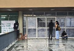 Huelga y encapuchados en Rectoría UNAM