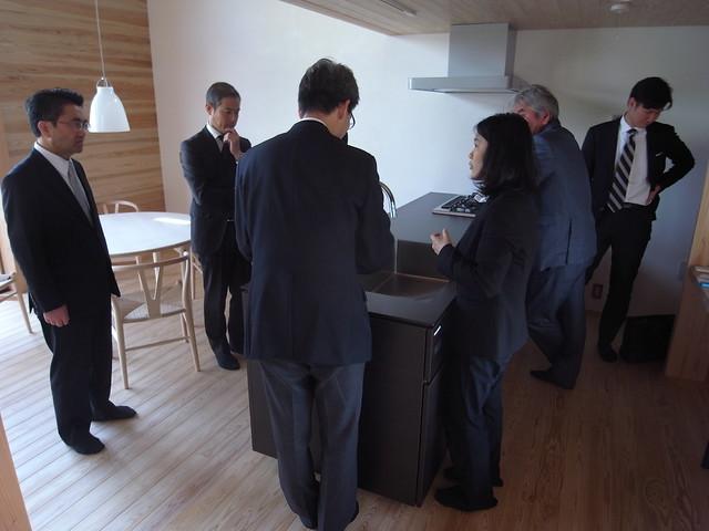 キッチンハウス・TJMデザイン社長 田島庸助様にご来訪いただきました