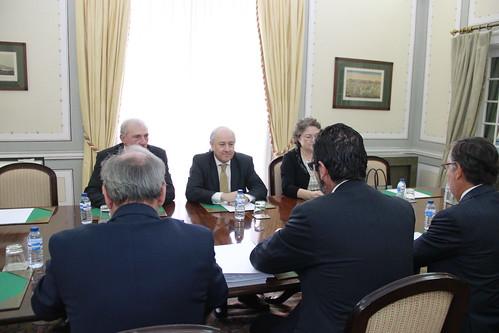 Rui Rio em reunião com a Missão Crescimento