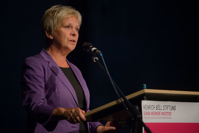 Barbara Unmüßig (Vorstand Heinrich-Böll-Stiftung) Foto: Stephan Röhl