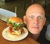 Small Head or BIG Burger