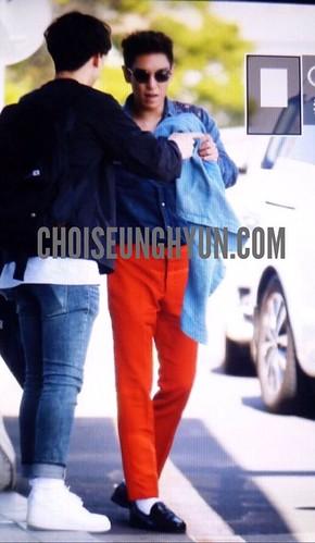 BIGBANG departure Jeju 2015-05-20 03