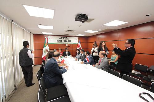 El día 21 de septiembre del 2016 se llevó a cabo en la H. Cámara de Diputados la instalación del grupo de amistad México-Costa Rica.
