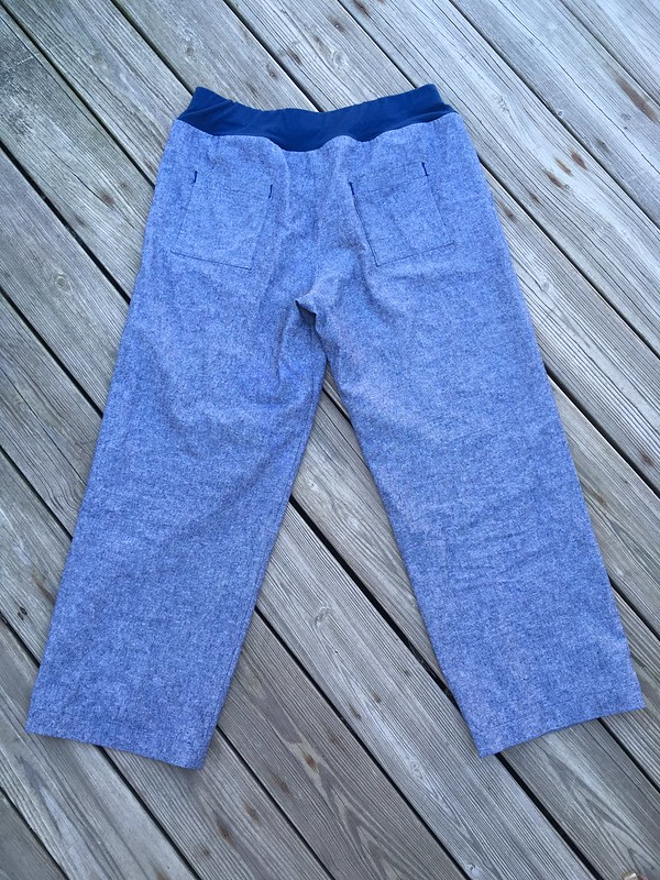 Simpicity 1020 linen/cotton pants