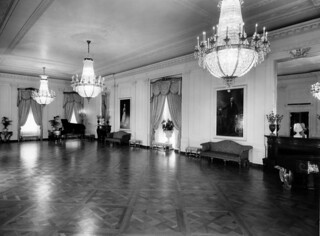 East Room of the White House, 08/01/1952