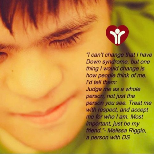 February is Down Syndrome Consciousness month :) Pic of Jeremy by @annettellapena