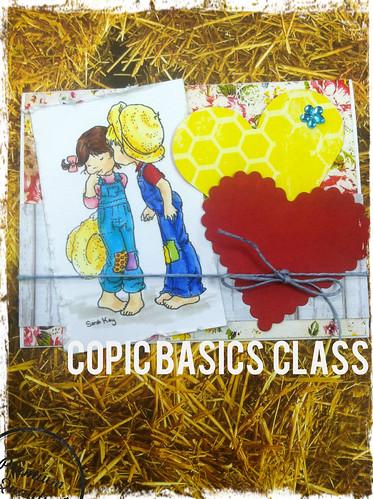 Feb Copic Basics Class by Donyas