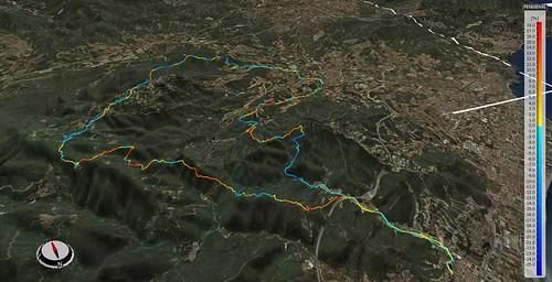 Corredor del Montnegre 3D