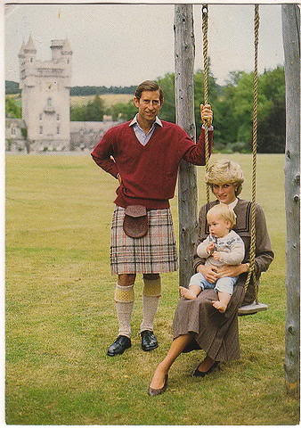 1983 Charles, Diana and William in 1983