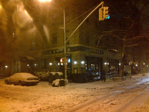 New York snow West Village Nemo