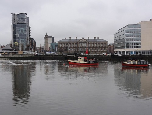Belfast River Lagan Scene