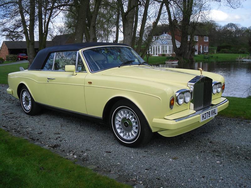 BENTLEY SPOTTING: The Yellow Rolls-Royce