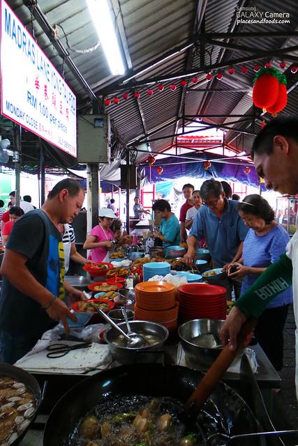 madras lane stall