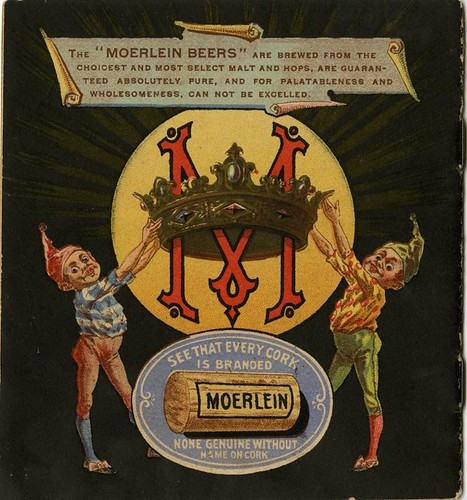 Eat, Drink (Moerlein's Beer) and be Merry - Back cover