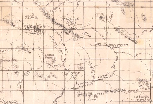 Alamar and Vicinity ca 1926