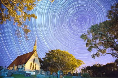 Startrails - Church