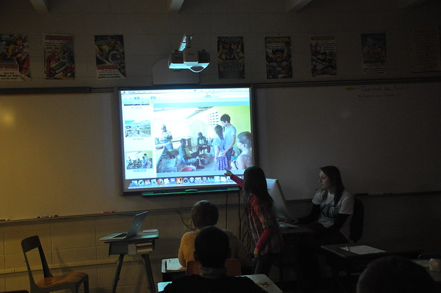 iowa classroom, haiti