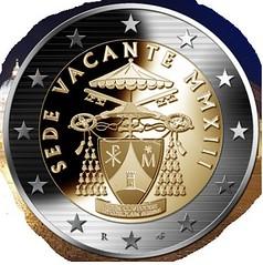 Vatican Sede Vacante coin design