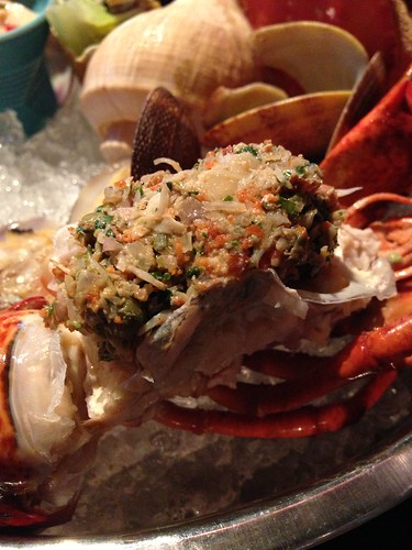 The Pelican - Steamed Maine Lobster with lobster tomalley stuffed into its shell