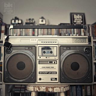 Ghetto iPod Dock