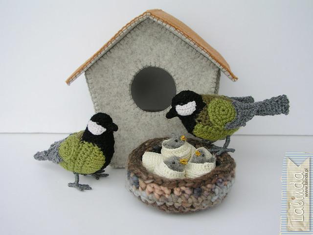 Crochet tit family