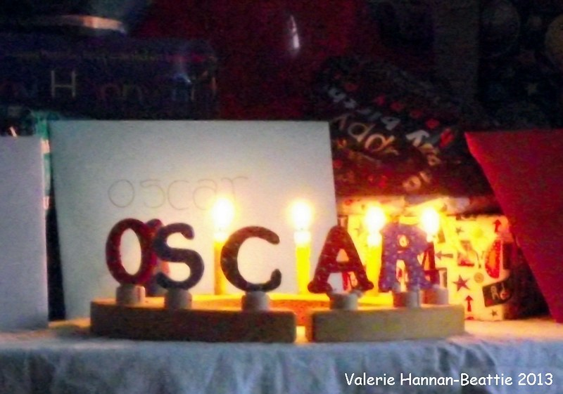 Oscar's 4th Birthday