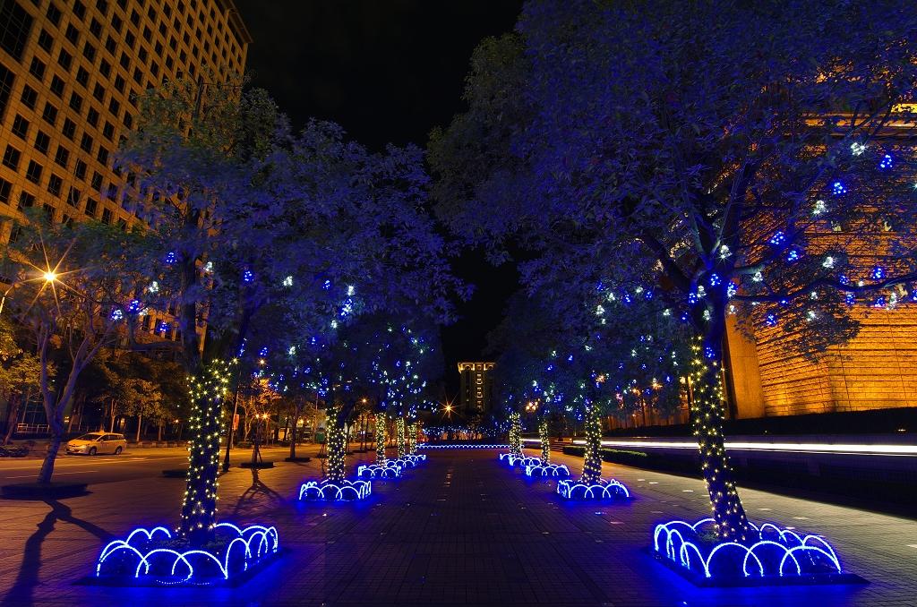 台北信義夜色